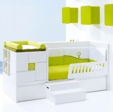 Charming Space Saving Nursery By Alondra Convertible Cribs   Baby On Board    Pinterest   Vintage, Drawers And Nurseries