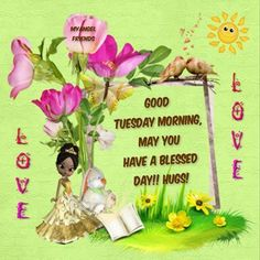 Good Morning, May you have a Blessed Day.