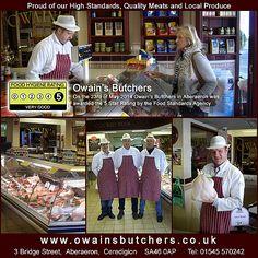 Owains Butchers - Food Standards Facebook Food Standards Agency, Best Meat, Star Rating, Promote Your Business, Business Marketing, Wales, Designers, Social Media, Facebook
