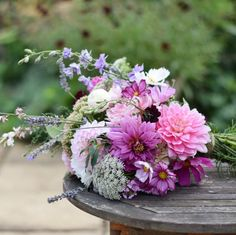 """181 Likes, 12 Comments - Swan Cottage Flowers (@swancottageflowers) on Instagram: """"A close up of the Bridal Bouquet from this Sunday's DIY Wedding Flowers Workshop! This time we are…"""""""