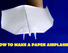 Make A Paper Airplane, Paper Plane, Behance, Crafts, Manualidades, Paper Planes, Handmade Crafts, Craft, Arts And Crafts