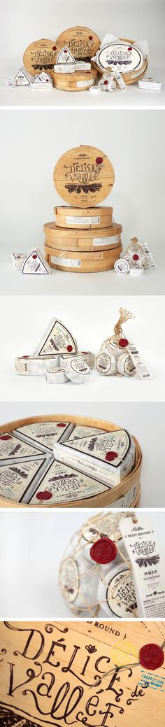 great #cheese #packaging by FRED CARRIEDO PD