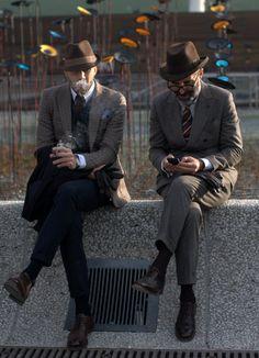 The Homburg Felt Hat #Felt #Fashionable #Hat
