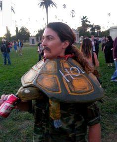 Tortuga Costume Thats amazing.