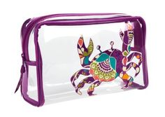 Seashore Clear Cosmetic   Vera Bradley  Not always in love with Vera but these are adorable.