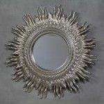 Silver Starburst Mirror