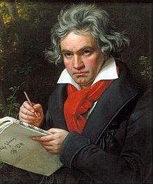 Did Beethoven have Paget's ? Ludwig van Beethoven - German composer and pianist. A crucial figure in the transition between the Classical and Romantic eras in Western art music, he remains one of the most famous and influential of all composers. Ode An Die Freude, Memes Arte, Moonlight Sonata, Ludwig, Art Music, Piano Music, Kids Music, Music Teachers, Piano Songs