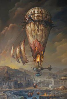 Straordinari dipinti dei veicoli di viaggio da Jaroslaw Jasnikowski (7)