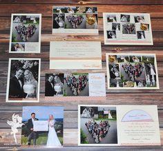 Thank you cards, Wedding invitation, #weddinginvitation #weddingpapeterie #feenstaub Hochzeitspapeterie hochzeitseinladung Dankeskarte