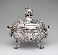 Tureen, 1736-7, Paul de Lamerie (English, 1688–1751, active 1712–51), Metropolitan Museum of Art
