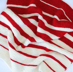 Peppermint Ombre Baby Blanket by RachelMullerYarns on Etsy, $38.00