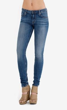 Favorite jeans. I found this on www.kaightshop.com