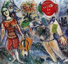 Marc Chagall - Between Surrealism & NeoPrimitivism