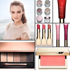 Clarins Instant Glow Collection Spring 2016.