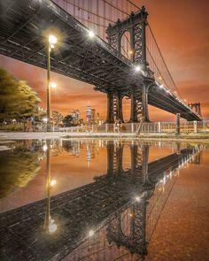 Manhattan Bridge, Brooklyn Bridge, Nyc Go, I Love Ny, George Washington Bridge, New York Travel, Photo And Video, City, Amazing