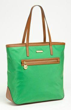 Michael Kors Signature Brown X-Large Travel Duffle Bag $298.0