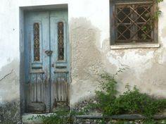 a beautiful old door, Pilio, Greece