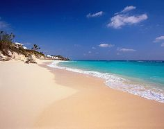 This picture captures the true colors of Bermuda.