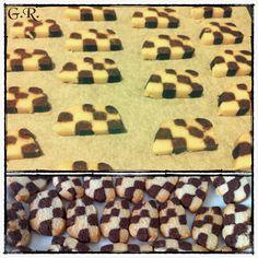 Biscotti a scacchiera... #biscotti #food #colazione