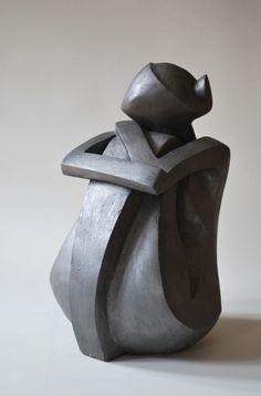 Modern Art Sculpture, Stone Sculpture, Sculpture Clay, Abstract Sculpture, Ceramic Painting, Ceramic Art, Metal Art, Wood Art, Sculptures Céramiques