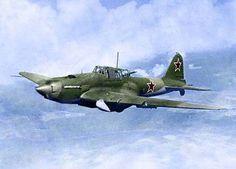 Ilyushin IL-2; Sturmovik Strike/Close-Support Aircraft (1941)