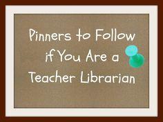 Ms. O Reads Books: Pinterest & Teacher Librarians (Pinterest Boards to Follow!)