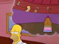 Discover & share this Simpsons GIF with everyone you know. GIPHY is how you search, share, discover, and create GIFs. Tv Funny, Funny Jokes, Funny Cartoon Characters, Old Comic Books, Old Comics, Homer Simpson, Cool Cartoons, Funny Pictures, Funny Pics