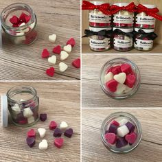 Mini Hearts Wax Melts Jar Heart Wax Melts Scented by Halliescents Diy Candle Melts, Diy Wax Melts, Scented Wax Melts, Homemade Scented Candles, Wax Tablet, Candle Making Business, Soy Candle Making, Candle Craft, Wax Tarts