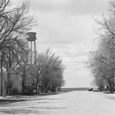"""Genoa, Colorado. 1970 (Photographed by Robert Adams) """"The Place We Live"""" (Yale University Art Gallery)"""