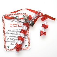 "'Tis the Season for Christmas Party Crafts! The Christmas candy cane craft kit is a great favor for kids of all ages. An easy way to spread Christmas cheer to all your party guests. A dozen craft kits per package. Each kit makes a beaded candy cane ornament with attached ""Meaning of the Candy Cane"" card. Package includes instructions and extra pieces. Make your Christmas party unforgettable with stocking stuffers from Century Novelty. We have the Christmas party favors you need to make your…"