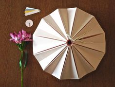 Blossom Light origami lamp in pink. It will be surprise for him (or her?)! Origami lamps made beatifuly by you. YouLIGHT