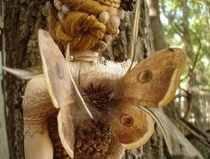 Looks like Shakespeare's Moth Fairy. Such beautiful wings and that hair! Fairy Land, Fairy Tales, Moth Wings, Vintage Winter, Midsummer Nights Dream, Fairy Wings, Magical Creatures, Illustrations, Fantasy World