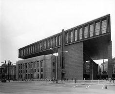 Building of former Federal Assembly of Czechoslovakia, K. Prager, J. Kaderabek, Atelier Gamma, Prague (1966-1973)