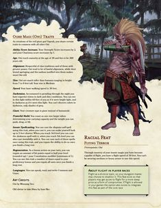 Oni player race - Haunt the night as the fearsome japanese boogeyman. Dungeons And Dragons Races, Dungeons And Dragons Classes, Dnd Dragons, Dungeons And Dragons Characters, Dungeons And Dragons Homebrew, Dnd Characters, Fantasy Characters, Dnd Stories, Dnd Classes