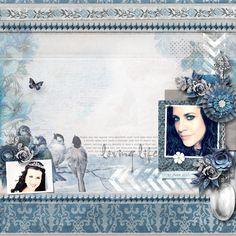 LOVING LIFE - Template: White Space 3 by Heartstrings Scrap Art (Coming April 1) Kit: Gentle Breeze by Valentina Creations https://www.digitalscrapbookingstudio.com/personal-use/kits/gentle-breeze-kit-biggie/