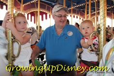 In May 2012 we took Tink and Minnie on the same ride, now known as Prince Charming Regal Carrousel.