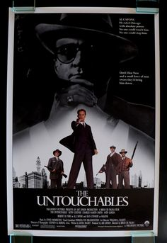 "THE UNTOUCHABLES - ""What do you think?""  ""I think there's nothing like vaudeville."""