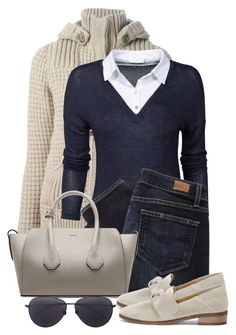 """""""Untitled #1595"""" by gallant81 ❤ liked on Polyvore featuring Bark, ONLY, Paige Denim, Bally, Lucky Brand and Linda Farrow"""
