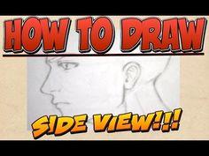 Lezioni di disegno - Viso di Profilo - YouTube