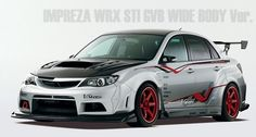 2011 subaru body kits varis | body kit for the GVB Subaru Impreza WRX STi sedan. The Varis body kit ...