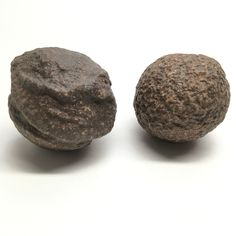 Moqui Marbles 19 Set Brown Shaman Stones Rock Mineral Ball Pair