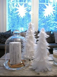 Joulukuusi x3 - white & black - CASA Blogit