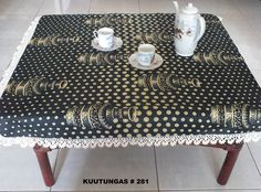 African handmade small tablecloth by kuutungas on Etsy