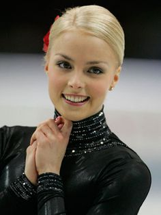 Kiira Korpi is a Finnish figure skater, and widely regarded as the most beautiful woman in figure skating.