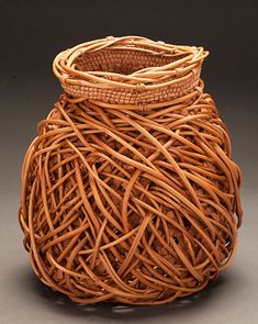 Willow Bark Basket️More Pins Like This At #FOSTERGINGER @ Pinterest️