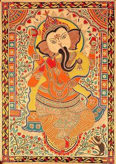 Indian Painting Styles...Madhubani/Mithila  Painting (Bihar)-ganeshamadhubani1-6-.jpg
