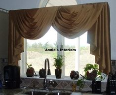 Swags and Jabots Gathered Jabots Primitive Country Style Curtains ...