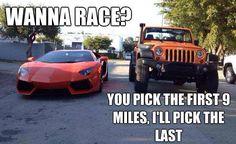 I'll Pick the last... #Jeep