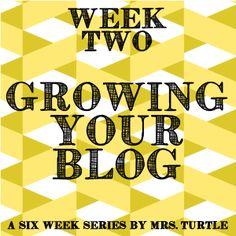 Growing Your Blog: Week Two & Blog Hop | Seasons of a Homemaker