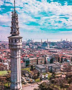 Beyazıt Tower, Istanbul Istanbul Turkey, Big Ben, Paris Skyline, Nova, Beautiful Places, Magic, Adventure, Coffee, World
